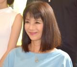 ショートドラマ『あじさい』の制作発表会見に参加した牧野美千子 (C)ORICON NewS inc.