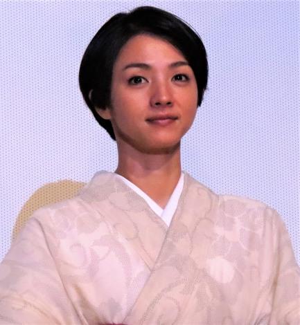 『海辺の生と死』初日舞台あいさつに登壇した満島ひかり (C)ORICON NewS inc.