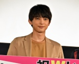 映画『銀魂』& dTV『銀魂 -ミツバ篇-』Wヒット記念!イッキ見上映会に出席した吉沢亮