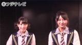 英語でインタビューに答えたAKB48の平田梨奈(左)、JKT48の野澤玲奈(右)