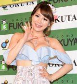 『1stトレーディングカード』発売記念イベントを開催した美馬怜子 (C)ORICON NewS inc.