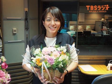 サムネイル 第1子を出産した赤江珠緒アナウンサー(今年3月の産休入り直前/写真提供:TBSラジオ)