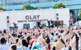 新アルバム『SUMMERDELICS』の発売記念フリーライブを行ったGLAY