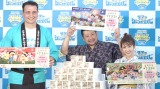 イベントに参加した鳴戸親方(左)、ケンドーコバヤシ(中)、舟山久美子(右) (C)ORICON NewS inc.