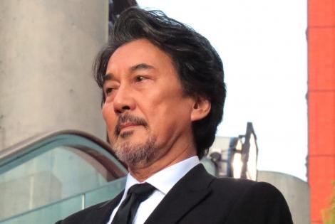 映画『三度目の殺人』のレッドカーペットに参加した役所広司 (C)ORICON NewS inc.