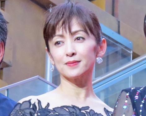 映画『三度目の殺人』のレッドカーペットに参加した斉藤由貴 (C)ORICON NewS inc.