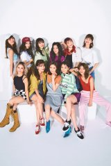 『smart』9月号に登場したE-girls