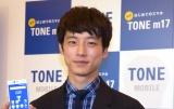 トーンモバイルの新端末発売&新CM発表会に出席した坂口健太郎 (C)ORICON NewS inc.