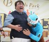公営競技の総合サービスサイト『オッズパーク』が企画する「知らナインズ」の結成会に出席した(写真左より)彦摩呂、アニマル浜口 (C)oricon ME inc.