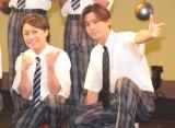 『演歌男子。学園祭LIVE』に出演した(左から)ヒカル、川上大輔 (C)ORICON NewS inc.