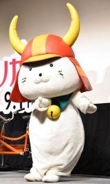 映画『トリガール!』の頑張りガール集合イベントに出席したひこにゃん (C)ORICON NewS inc.