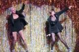 ミュージカル『CHICAGO(シカゴ)』来日公演前のプレスコール(左から)アムラ=フェイ・ライト、米倉涼子 (C)ORICON NewS inc.