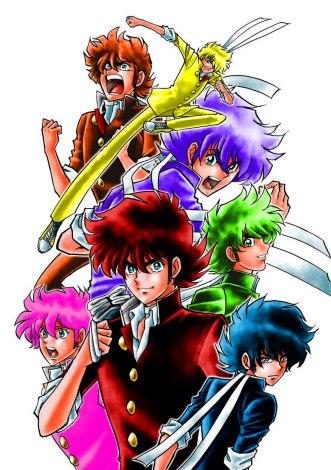 画像写真 ジャニーズwest色に染まった7人の駆たち 島本和彦描き