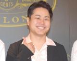 バーバーサロン『LUDLOW BLUNT』の日本初上陸記念イベントに参加したNON STYLE・井上裕介 (C)ORICON NewS inc.