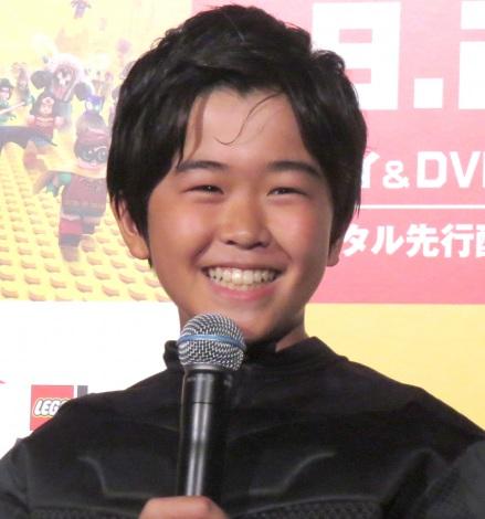 『レゴ バットマン ザ・ムービー』ブルーレイ&DVDリリース/デジタル配信記念イベントに出席した鈴木福 (C)ORICON NewS inc.