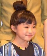 映画『幼な子われらに生まれ』のプレミア試写会の舞台あいさつに登壇した新井美羽 (C)ORICON NewS inc.
