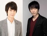 SME×藤沢文翁の音楽朗読劇に出演する(左から)梅原裕一郎、関智一