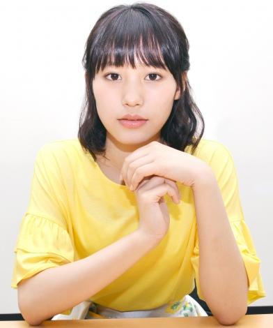 女優デビューへの思いを語った南沙良 (C)ORICON NewS inc.