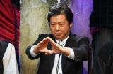 カンテレ夏の風物詩『稲川淳二の怪談グランプリ2017』8月6日深夜放送。気を送る山口敏太郎(C)関西テレビ