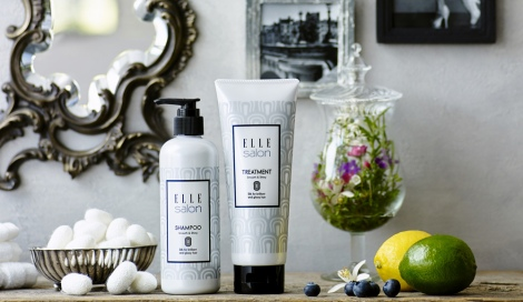 『ELLE salon SHAMPOO & TREATMENT』(税抜各3500円)
