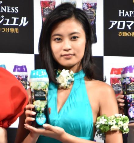『レノアハピネス アロマジュエル』発売記念イベントに出席した小島瑠璃子 (C)ORICON NewS inc.