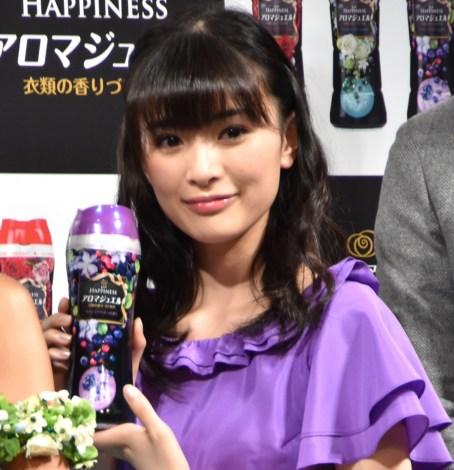『レノアハピネス アロマジュエル』発売記念イベントに出席した優希美青 (C)ORICON NewS inc.