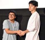 映画『息もできない』のトークイベントに出席した(左から)ヤン・イクチュン、東出昌大 (C)ORICON NewS inc.