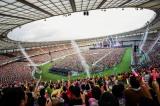 『ももクロ夏のバカ騒ぎ2017 -FIVE THE COLOR Road to 2020- 味の素スタジアム大会』の模様(Photo by HAJIME KAMIIISAKA+Z)