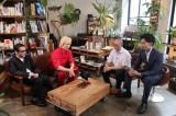 12日放送の日本テレビ系『マッドライターズ〜何でこんな本出しちゃったんですか?〜』(深夜24:55)でバラエティ番組初MCに挑戦する吹越満(左)とカズレーザー (C)日本テレビ
