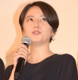 映画『散歩する侵略者』完成披露舞台あいさつに出席した長澤まさみ (C)ORICON NewS inc.