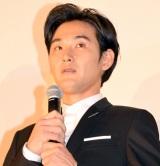 映画『散歩する侵略者』完成披露舞台あいさつに出席した松田龍平 (C)ORICON NewS inc.