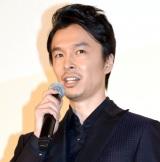 映画『散歩する侵略者』完成披露舞台あいさつに出席した長谷川博己 (C)ORICON NewS inc.