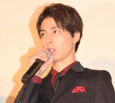 映画『散歩する侵略者』完成披露舞台あいさつに出席した高杉真宙 (C)ORICON NewS inc.