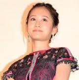 映画『散歩する侵略者』完成披露舞台あいさつに出席した前田敦子 (C)ORICON NewS inc.