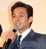 映画『散歩する侵略者』完成披露舞台あいさつに出席した満島真之介 (C)ORICON NewS inc.
