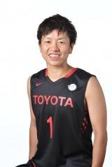 プロバスケットボールプレーヤーの大神雄子(山形県出身)が本人役で登場(C)WJBL