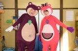8月14日放送、NHK総合『LIFE!〜人生に捧げるコント〜』オモえもん(星野源)が妹・オモミ(深田恭子)連れて帰ってくる(C)NHK