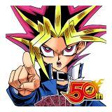 『週刊少年ジャンプ』50周年を記念し72週連続で公式スタンプをリリース(第2弾の『遊☆戯☆王』)(c)高橋和希/集英社