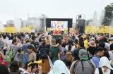 横浜みなとみらいエリアで開催中のイベント『ピカチュウだけじゃない ピカチュウ大量発生チュウ!』横浜赤レンガ倉庫に松本梨香と林明日香がサプライズ登場。映画の大ヒットを感謝して熱唱