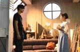 日本テレビ系連続ドラマ『過保護のカホコ』(毎週水曜 後10:00)の第6話より(左から)竹内涼真、高畑充希 (C)日本テレビ
