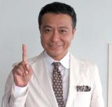 おなじみの『シューイチ』ポーズを披露する中山秀征 (C)ORICON NewS inc.