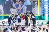 """東京・お台場で連日開催中の『めざましライブ』で""""いきものダンス""""を生披露した橋本環奈や超特急"""