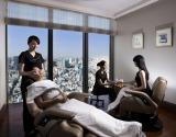 施術は37階の「スパ スタジオ by マンダリン オリエンタル 東京」で実施