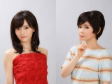 NHK土曜ドラマ『のぼせもん』(9月2日スタート)に出演する(左から)山本彩(NMB48)、中川翔子(C)NHK