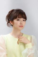 NHK土曜ドラマ『のぼせもん』(9月2日スタート)奥村チヨ役で出演する鈴木愛理(C)NHK