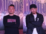『フリースタイルダンジョン』新モンスターの(左から)輪入道・FORK(C)テレビ朝日