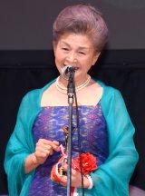 『第25回 日本映画批評家大賞 実写部門』授賞式に出席した草村礼子