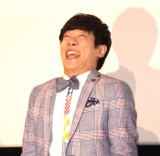 映画の完成披露試写会で変顔を披露した横山だいすけ (C)ORICON NewS inc.