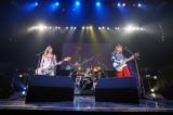ソニー・ミュージックレーベルズの新人コンベンション『Sony Music Labels 2017』に出演したthe peggies