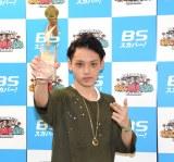 第12回高校生RAP選手権に優勝したCore-Boy (C)ORICON NewS inc.